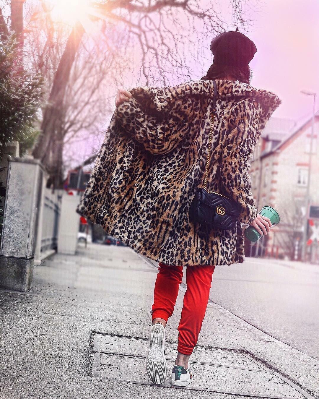 Leo Coat & Sweatpants and a very talented Fashion Illustrator