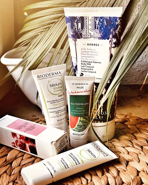 (Deutsch) Meine Beautylieblinge im Herbst: ewiger Lavendelduft mit Korres, die Sebium-Gesichtspflege von Bioderma und geschmeidiges Haar mit Moroccanoil