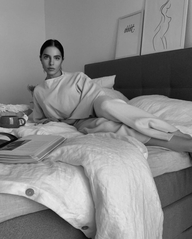 Nachhaltig schlafen: Coziness with Linen Tales
